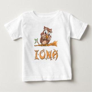 Camiseta del bebé del búho de Iona