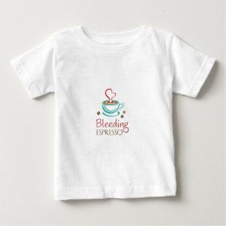 Camiseta del bebé del café express de la sangría