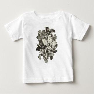 Camiseta del bebé del camarón antártico
