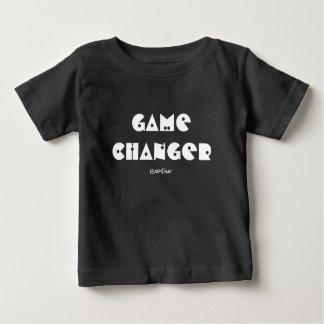 Camiseta del bebé del cambiador del juego
