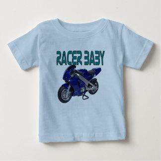 Camiseta del bebé del corredor