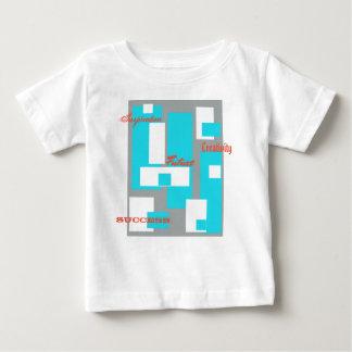 Camiseta del bebé del Creatividad-Éxito
