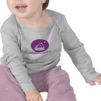 camiseta del bebé del despertador = del