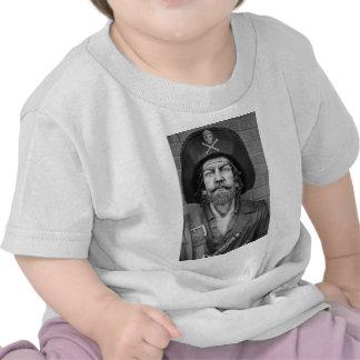 Camiseta del bebé del pirata