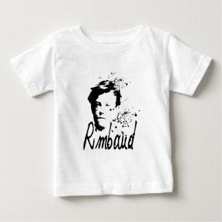 Camiseta del bebé del retrato de ARTHUR RIMBAUD