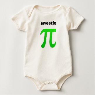 Camiseta del bebé del Sweetie pi
