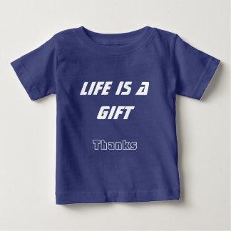 Camiseta del bebé del verano - la vida es un