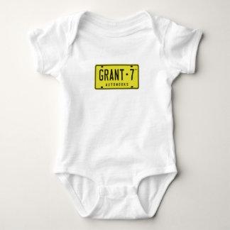 Camiseta del bebé el G7