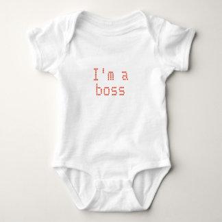 Camiseta del BEBÉ soy un jefe