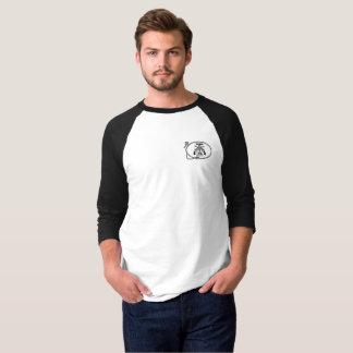 Camiseta del béisbol con el logotipo de la barra