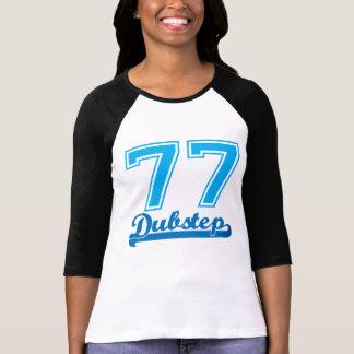 Camiseta del béisbol de Dubstep 77