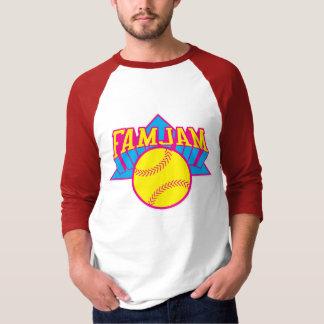 Camiseta del béisbol de JAMJAM