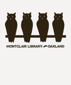Camiseta del béisbol de la biblioteca de Montclair