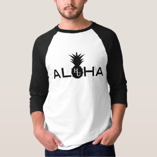 Camiseta del béisbol de la hawaiana de los hombres
