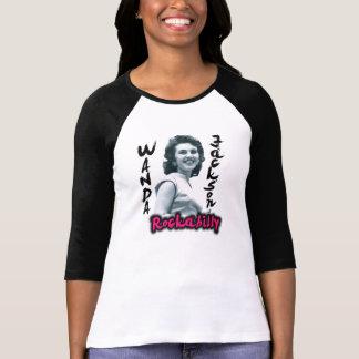 Camiseta del béisbol de Wanda Jackson