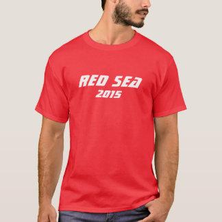 Camiseta del béisbol del Mar Rojo