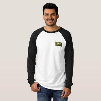 Camiseta del béisbol del rectángulo de Joshed Camo