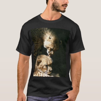 camiseta del beso del guepardo