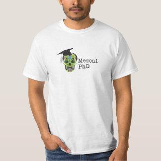 Camiseta del blanco de Mezcal PhD