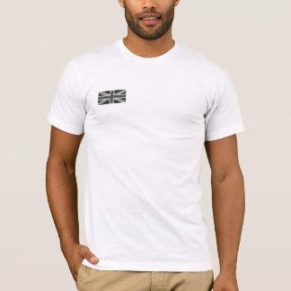 Camiseta del blanco de Union Jack