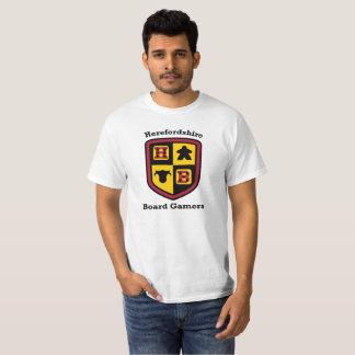 Camiseta del blanco del valor de los