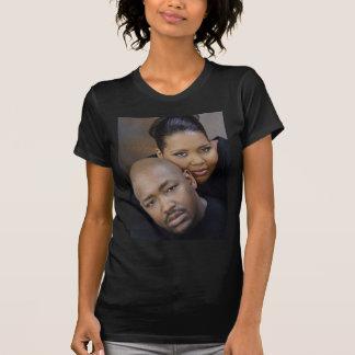 Camiseta del boda de Dwayne y de Andrea