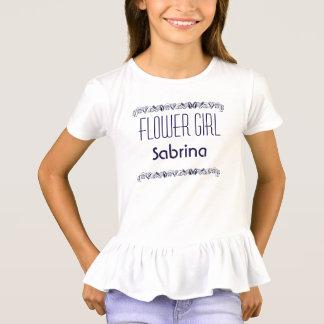 Camiseta del boda de playa del florista del