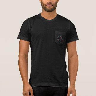 Camiseta del bolsillo de los hombres de la rama
