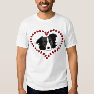 Camiseta del border collie