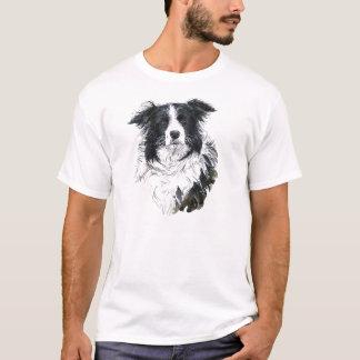 Camiseta del border collie