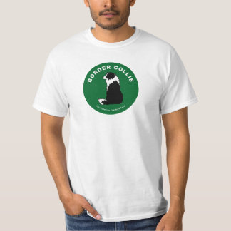 Camiseta del border collie (blanca)