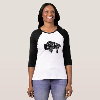 Camiseta del búfalo del bisonte de Black Hills