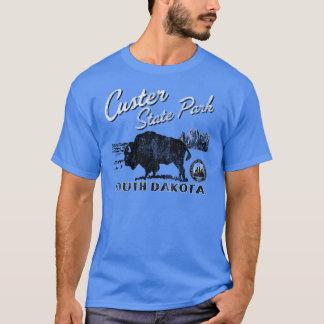 Camiseta del búfalo del parque de estado de Custer