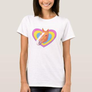 Camiseta del caballo