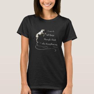 Camiseta del caballo de los filipenses 13 del