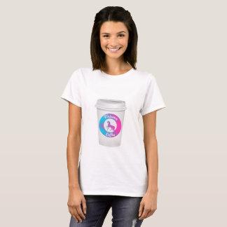 Camiseta del café del unicornio