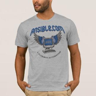 """Camiseta Del """"camisa ordenador del vuelo"""" de Ansible"""