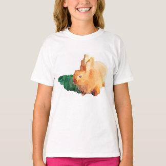 """Camiseta Del """"camiseta CONEJITO de PASCUA"""" del chica"""