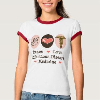 Camiseta del campanero de la enfermedad infecciosa