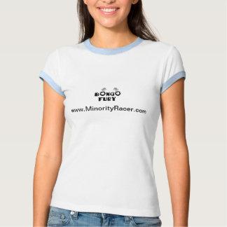 Camiseta del campanero de las señoras del bongo
