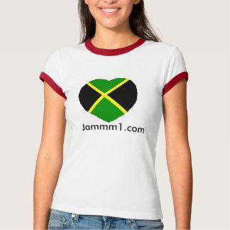 Camiseta del campanero de las señoras Jammm1, amo