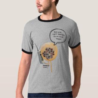 Camiseta del campanero de los hombres del pudín el
