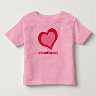 Camiseta del campanero del niño de la Amor-Sucrosa