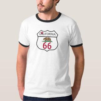 Camiseta del CAMPANERO del OSO de CALIFORNIA de la