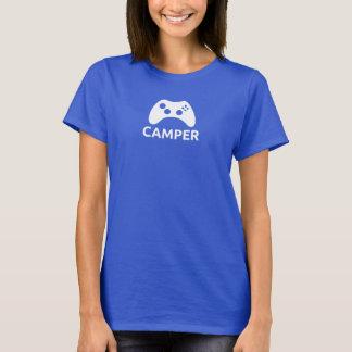 Camiseta del campista de las mujeres