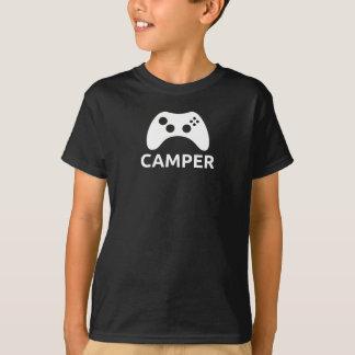 Camiseta del campista del niño
