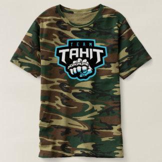 Camiseta del camuflaje de Tahit para hombre