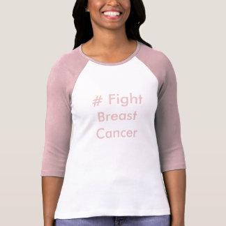 # camiseta del cáncer de pecho de la lucha