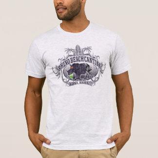 Camiseta del Cantina de la playa del rinoceronte