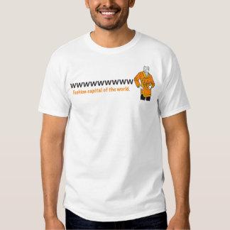 camiseta del capital de la moda del att